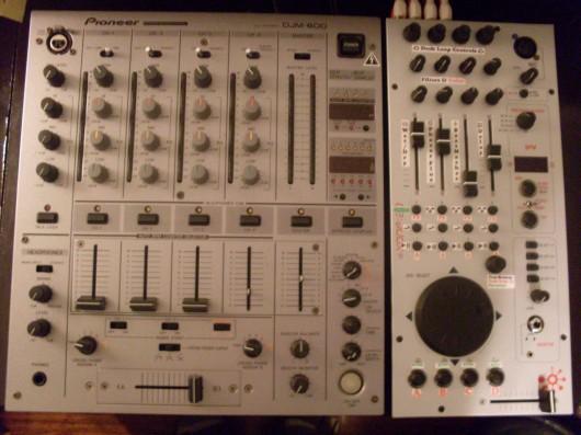 2D with DJM 600