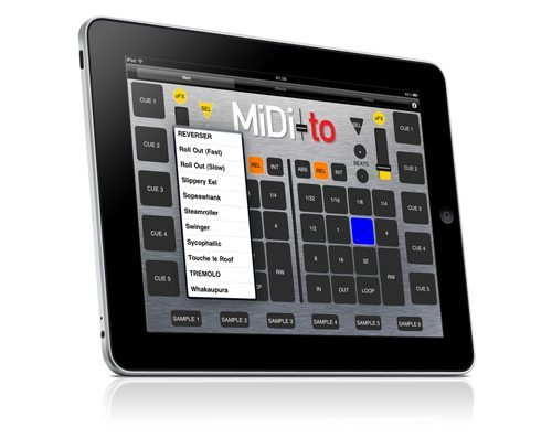 Ipad Midi Controller Midi to New Ipad App For