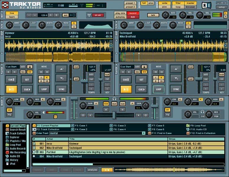 Traktor dj studio free download full version pc   Traktor