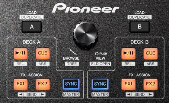 Novo mixer da Pioneer, DJM-T1 djm-t1, mixer, mixer dj, pioneer, Traktor, traktor duo