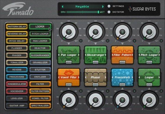 Novidade para produzir e para tocar: Sugar Bytes Turnado Ableton Live, efeitos, effectrix, plugins, Produção musical, sugar bytes, Torq, vst